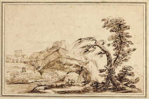 Follower of Giovanni Guercino