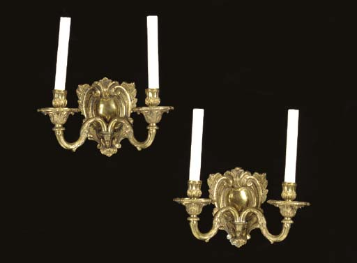 A SET OF FOUR REGENCE STYLE BR