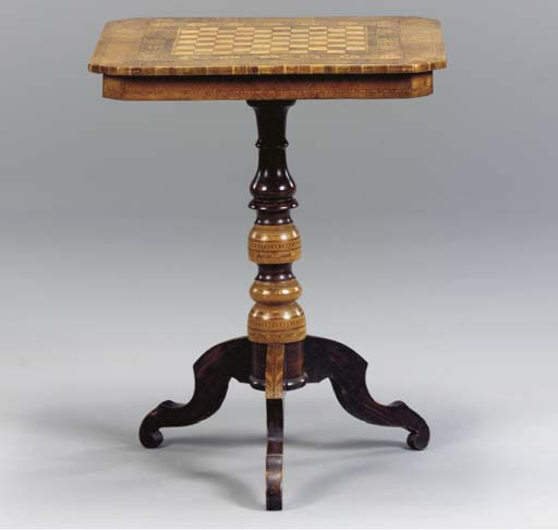A NORTHERN ITALIAN MARQUETRY A