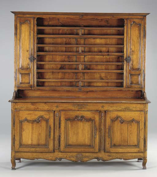 A LOUIS XV PROVINCIAL PINE AND
