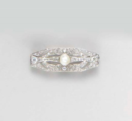 A BELLE EPOQUE DIAMOND, BAROQU