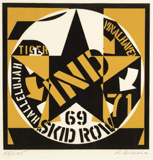 ROBERT INDIANA (B. 1928)