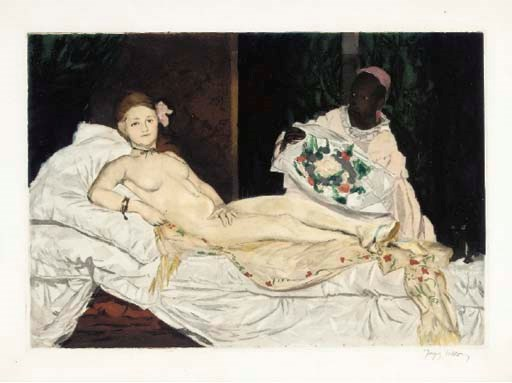 AFTER EDOUARD MANET (1832-1883