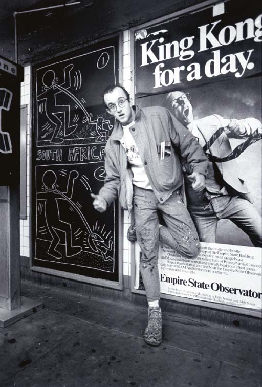 MARTIN ROY AND KEITH HARING