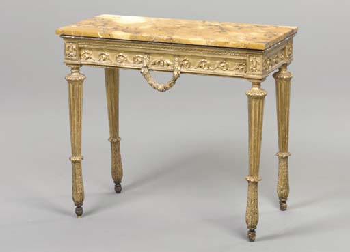 A NORTHERN ITALIAN GILTWOOD CO