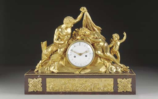 A LOUIS XVI ORMOLU AND ROUGE-G