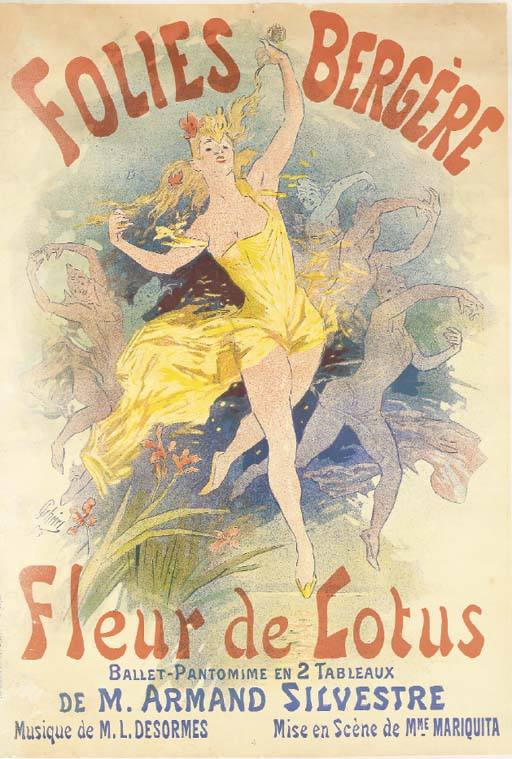 'FOLIES BERGERE, FLEUR DE LOTU