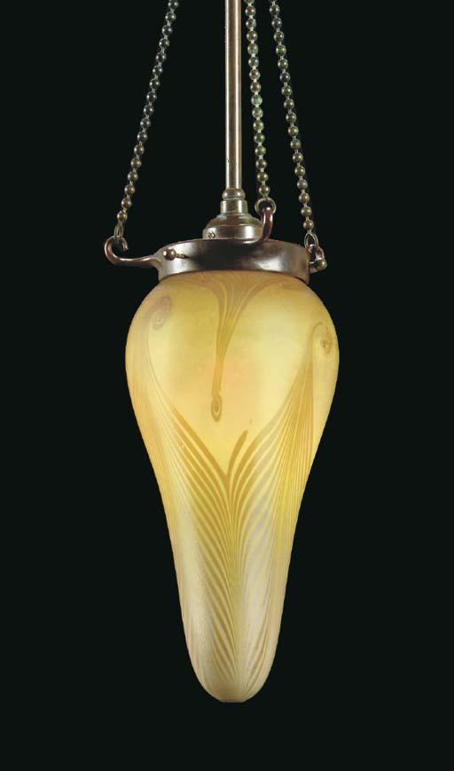 A FAVRILE GLASS 'STALACTITE' C