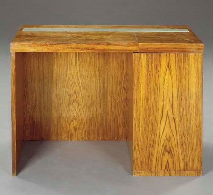 A MODERNIST EXOTIC WOOD AND IL