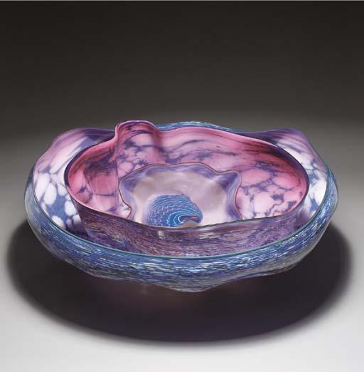 A 'MACCHIA' GLASS SCULPTURE SE