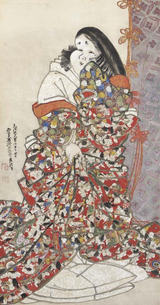 Kishi Ganrei (1816-1883)