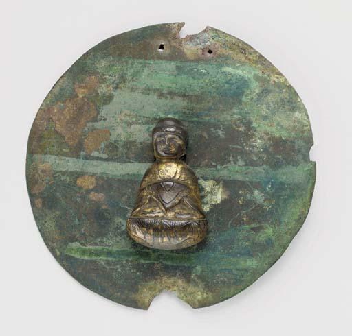 A Small Gilt-Bronze Buddha (Ka