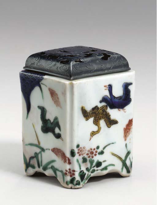 A Porcelain Incense Burner
