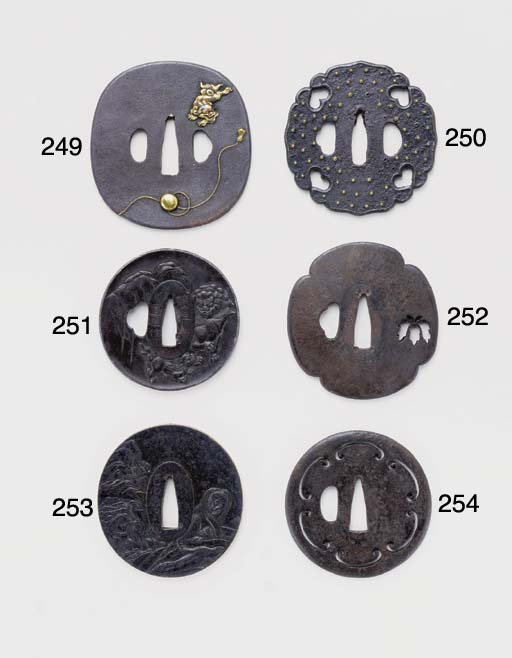 A Pierced Tsuba Attributed to