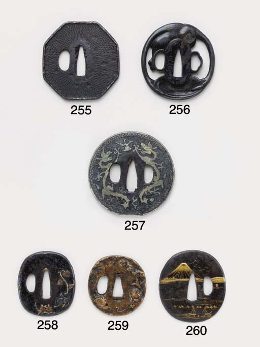 A Group of Six Tsuba