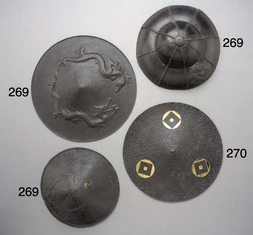 A Group of Six Iron War Hats (