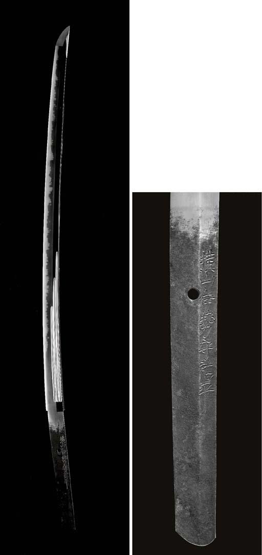 A Shinshinto Long Sword (Katan