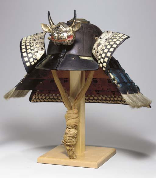 An Iron Helmet (Suji-Bachi)