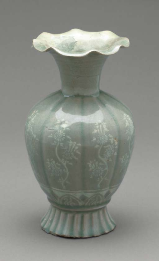 A Slip-inlaid and Celadon Ston
