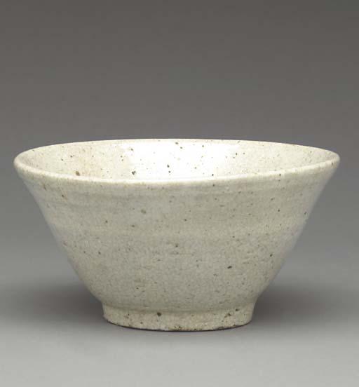 A Crackle-Glazed Stoneware Bow