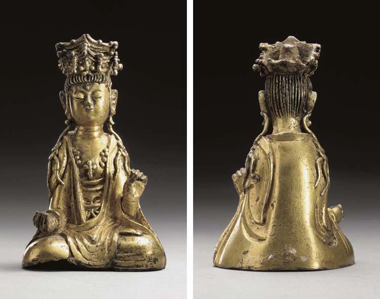Gilt-bronze Avalokitesvara