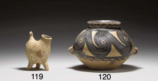 A NEOLITHIC PAINTED POTTERY JA