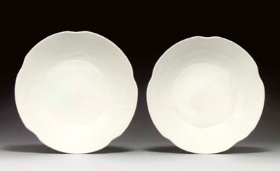 A PAIR OF XINGYAO-TYPE WHITE-G