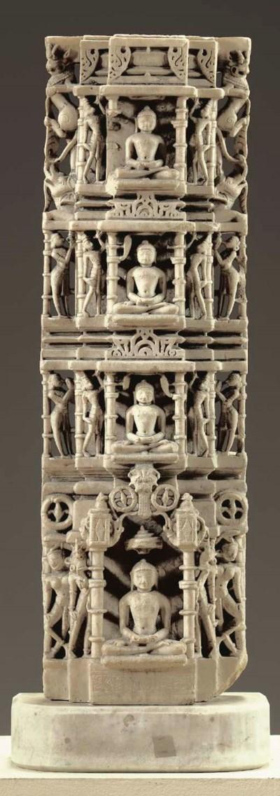 A Jain Marble Column