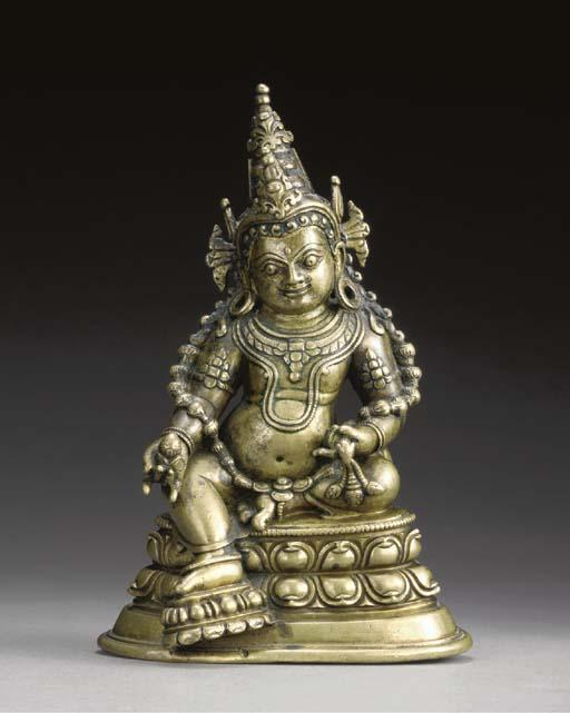 A Bronze Figure of Jambhala