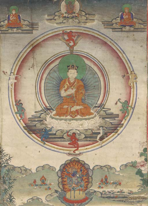 A Thangka of the Eighth Karmap