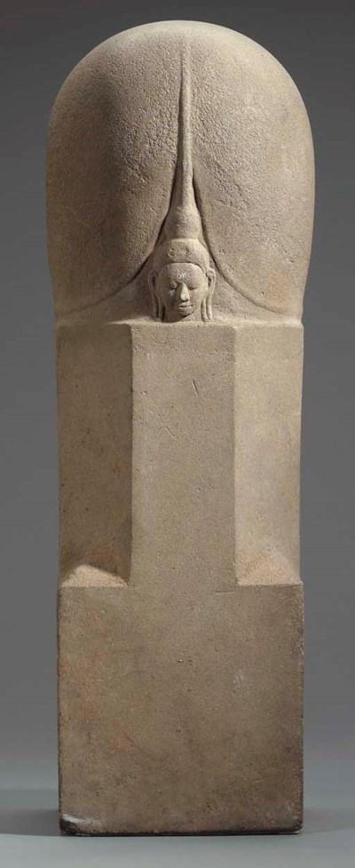 A Stone Ekamukhalinga