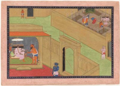 A Folio from the Ramayana