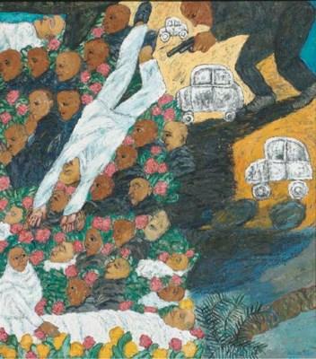 Arpita Singh (b. 1937)
