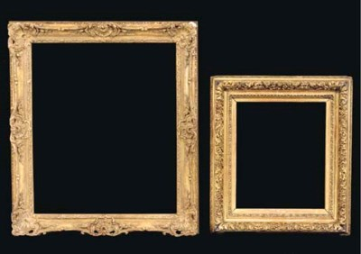 A group of two French frames