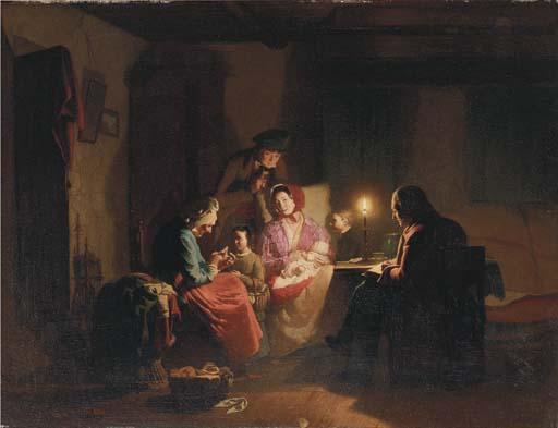 Johannes Rosierse (Dutch, 1818