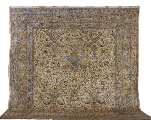 A MESHED CARPET,