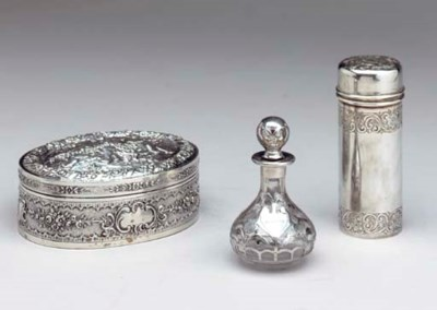 A GROUP OF SILVER AND SILVER-M