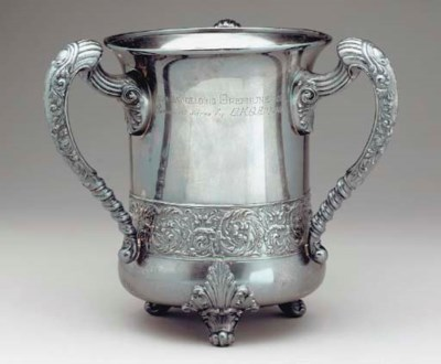 A PAIR OF AMERICAN SILVER-PLAT