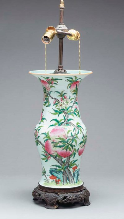 A CHINESE FAMILLE ROSE PORCELA