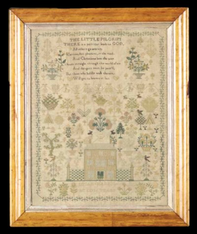 A NEEDLEWORK SAMPLER,