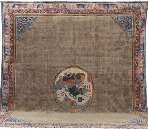 AN INDO-CHINESE CARPET