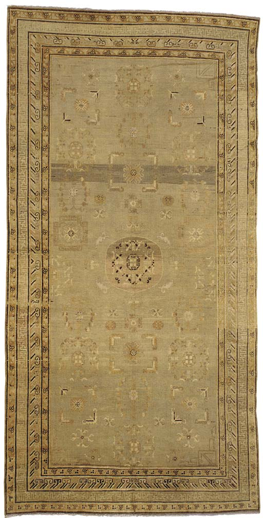 AN EAST TURKESTAN CARPET