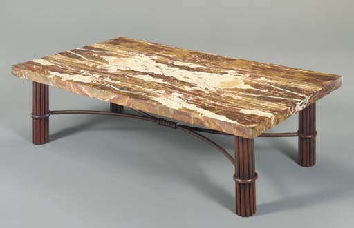A SICILIAN JASPER TABLE-TOP