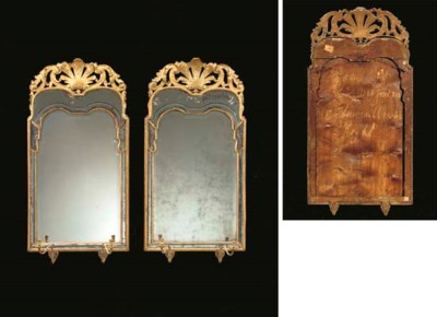 A PAIR OF GEORGE I GILTWOOD GI