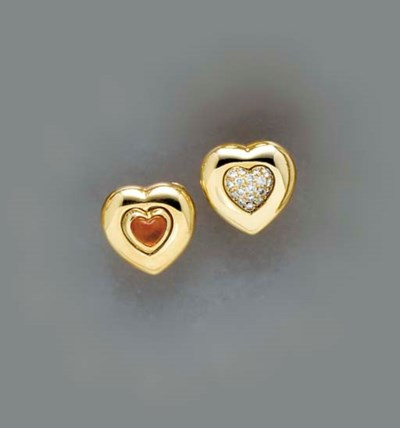 A PAIR OF REVERSIBLE CITRINE,