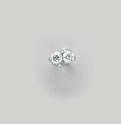 A DIAMOND AND PLATINUM CROSSOV