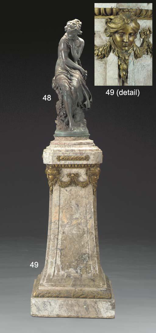 A Louis XIV style ormolu-mount