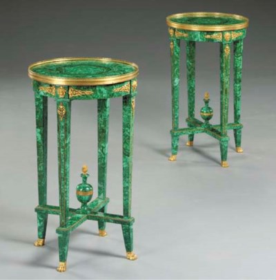 A pair of Neoclassic style orm