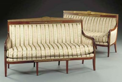 A pair of Louis-Phillipe style