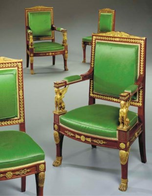 A set of four Louis-Philippe o